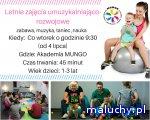 Letnie Zajęcia umuzykalniająco- rozwojowe w Akademii MUNGO - Bydgoszcz - zajęcia dla dzieci