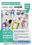 Warsztaty plastyczne w Empiku - Warszawa - zajęcia dla dzieci