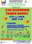 XXII Wawerskie Święto Wiosny - Warszawa -