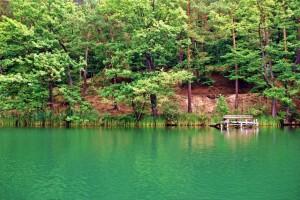 Między jeziorami Łagowa